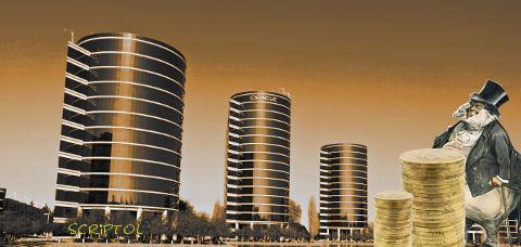 Les immeubles de la société Oracles