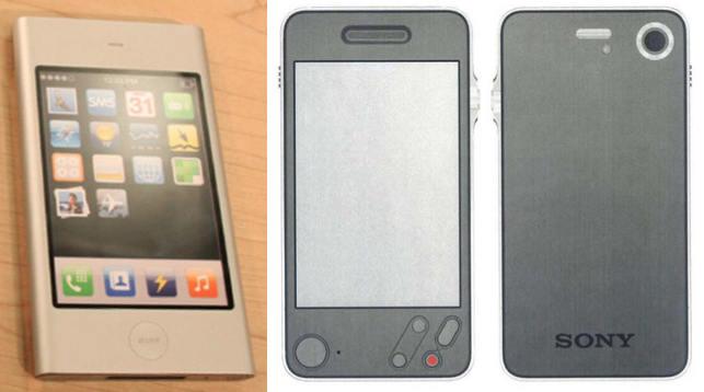 Apple P2 vs Sony en 2006