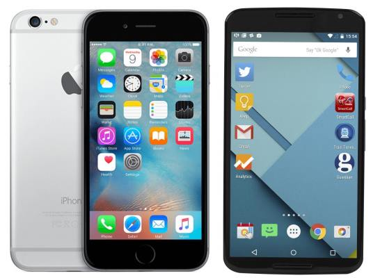iPhone 7 vs Nexus 6