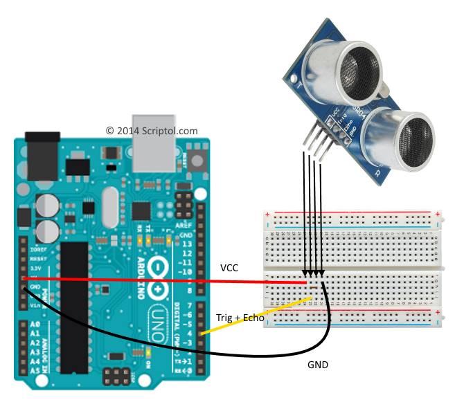Test du capteur ultrasonique hc sr04 - Distance en milles nautiques entre 2 ports ...
