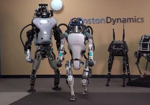 Humanoïdes de Boston Dynamics