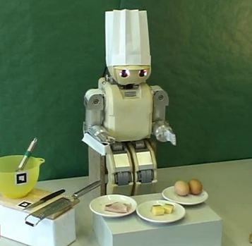 Robot cuisinier - Robot de cuisine qui cuit ...