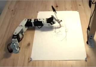 robot peintre dessinateur