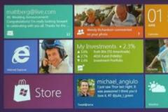 L'interface graphique de Windows 8
